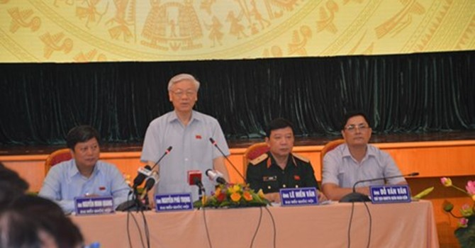 Tổng bí thư Nguyễn Phú Trọng kể chuyện thăm Mỹ