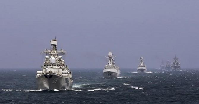Trung Quốc tập trận đổ bộ quy mô lớn trên Biển Đông