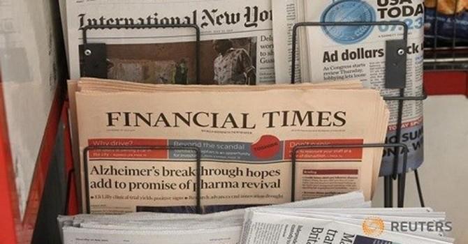 Hãng Nikkei mua tờ Financial Times