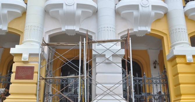 Sẽ trả lại màu sơn như năm 1997 cho Nhà hát lớn Hà Nội