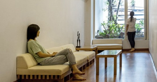 Giải pháp cho nhà hẹp