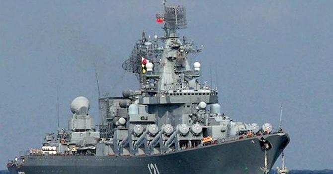 Hải quân Nga có hơn 80 tàu chiến hoạt động trên toàn thế giới