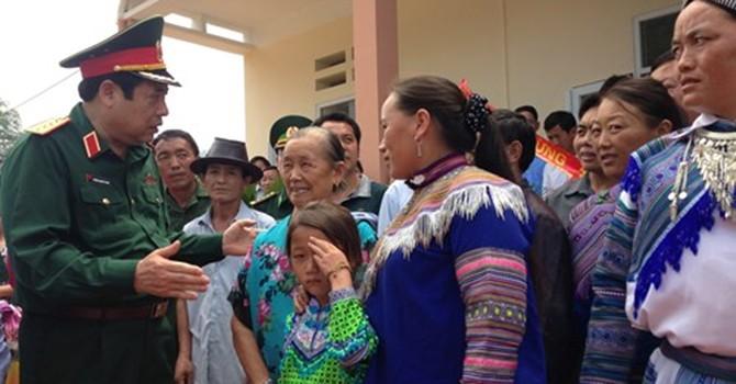 Đại tướng Phùng Quang Thanh liên tục tiếp khách trong hai ngày cuối tuần