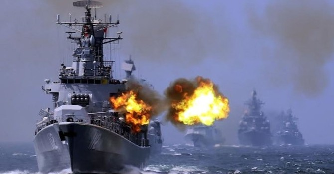 """Trung Quốc 10 ngày luyện """"thủy chiến"""" Biển Đông"""