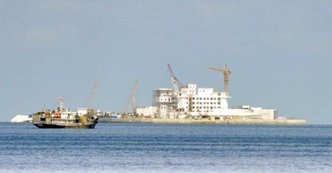 Mỹ không dám áp sát đảo Trung Quốc xây trái phép ở Biển Đông?