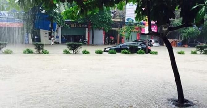 [Infographic] Trận mưa lũ ở Quảng Ninh phá vỡ nhiều số liệu lịch sử