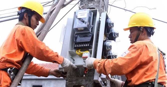 Thêm nhiều phụ tải mới ở miền Bắc bị mất điện do nước ngập