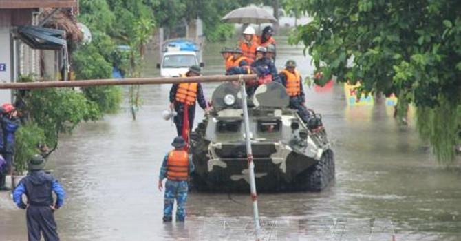 Mưa lũ khiến 3 vạn thợ mỏ Quảng Ninh tạm nghỉ việc