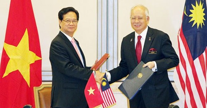 Việt Nam, Malaysia trở thành Đối tác chiến lược