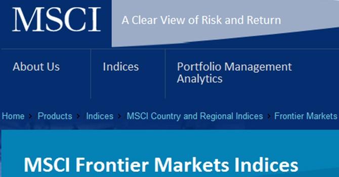 10 cổ phiếu Việt Nam trong danh mục MSCI Frontier Markets Index được bảo toàn