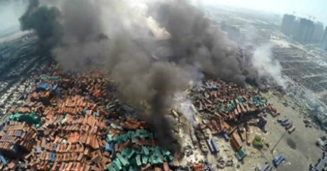 Tiếp tục nổ ở khu công nghiệp Trung Quốc