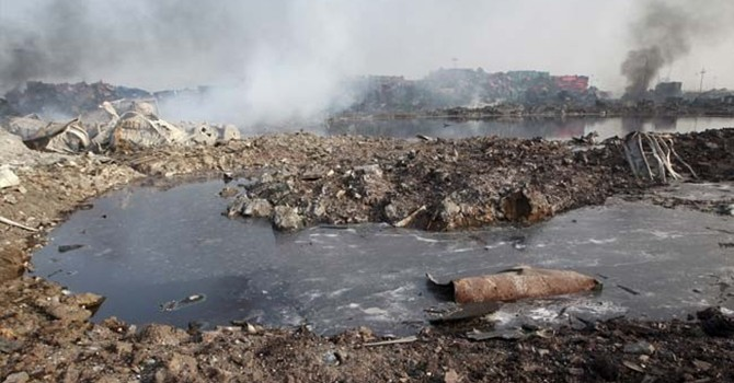 Chất kịch độc cyanide cao gấp 350 lần sau vụ nổ Thiên Tân