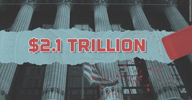 Hơn 2.000 tỷ USD đã bị xóa sạch khỏi chứng khoán Mỹ