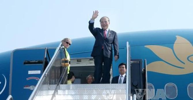 Chủ tịch Quốc hội bắt đầu thăm chính thức Hoa Kỳ