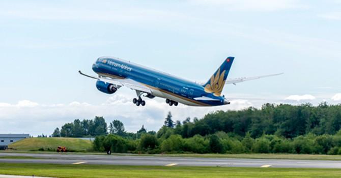 Vietnam Airlines được miễn thế chấp với khoản vay mua siêu máy bay