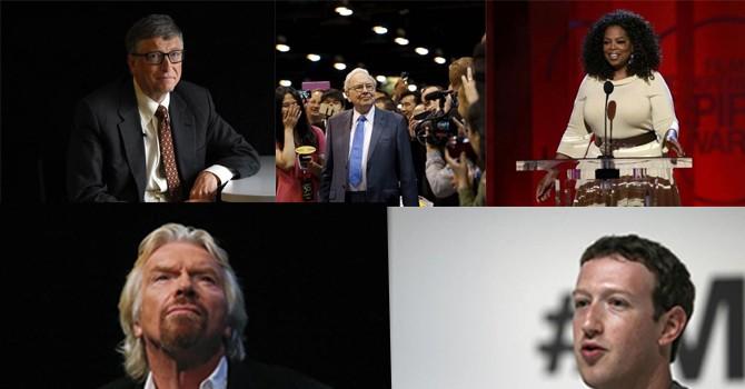 Các tỷ phú nổi tiếng khởi nghiệp như thế nào?