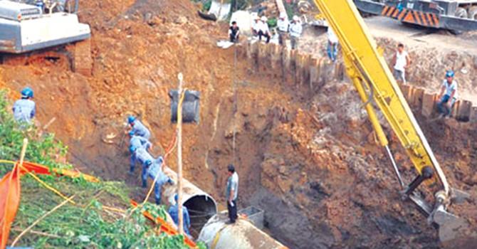 Đường ống nước Sông Đà: Nhiều sai phạm nhưng vẫn được nghiệm thu