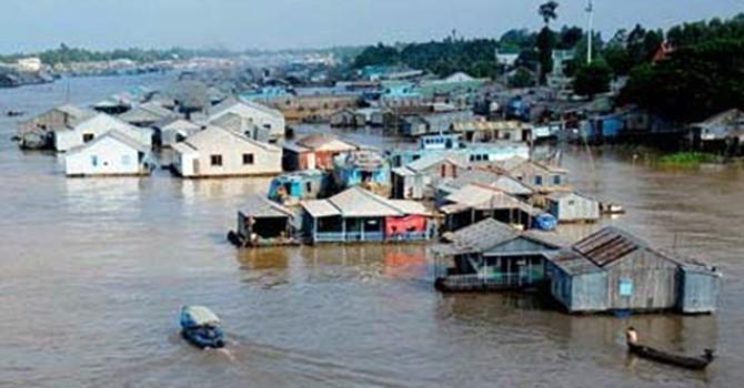 40% diện tích Đồng bằng sông Cửu Long sẽ bị ngập vào năm 2100