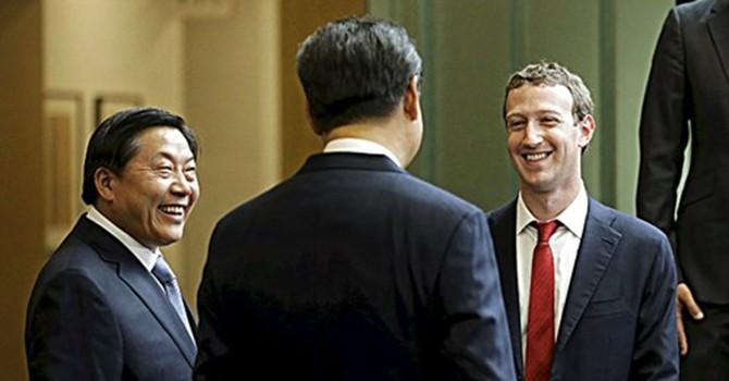 """Ông chủ Facebook bị """"ném đá"""" sau khi gặp Chủ tịch Tập Cận Bình"""