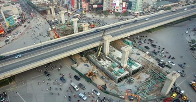 Hầm chui nút giao Trung Hòa sẽ hoàn thành trước Tết 2016