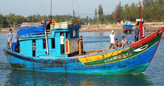 Malaysia bắt 18 ngư dân Việt Nam