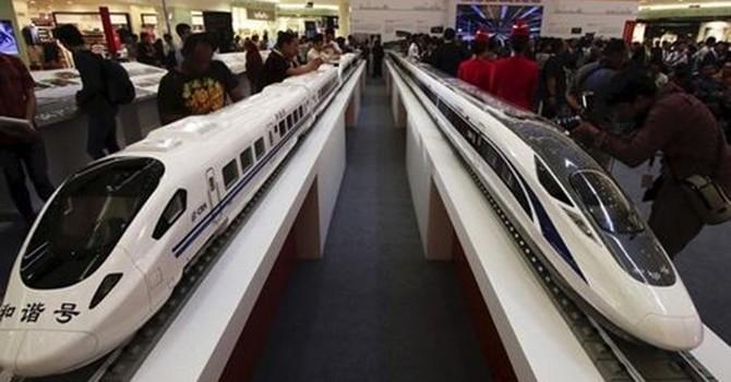 Tàu cao tốc Trung Quốc thắng thế trước Nhật Bản