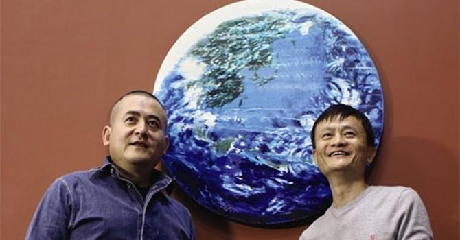Tranh của ông chủ Alibaba được mua với giá 5,4 triệu USD