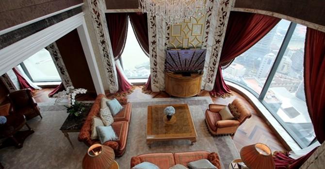 Khám phá nội thất xa xỉ bên trong căn phòng giá 330 triệu đồng/ đêm