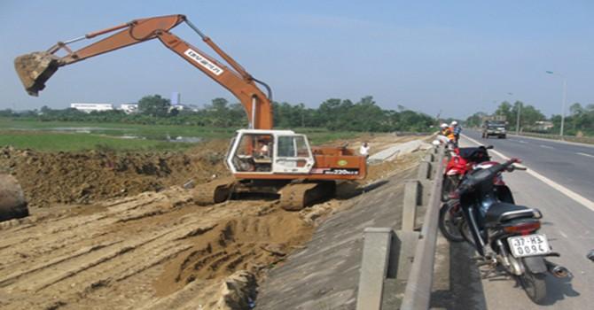 Quốc lộ 1A qua tỉnh Thừa Thiên-Huế khó hoàn thành trước 30/10