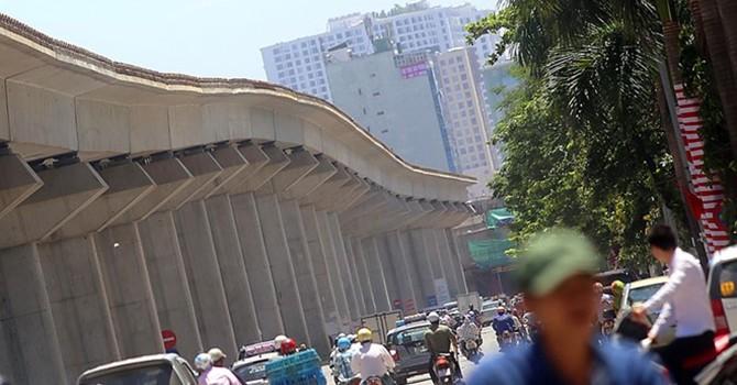 Đường sắt Cát Linh - Hà Đông lại lùi tiến độ