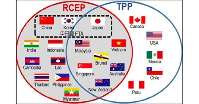 Hiệp định TPP gây áp lực không nhỏ cho các nước tham gia đàm phán RCEP