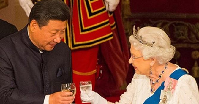 """""""Thập kỷ vàng"""" Trung Quốc - Anh"""