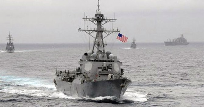 Việt Nam ra tuyên bố về tàu Mỹ tuần tra ở Trường Sa