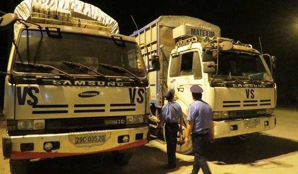"""""""Xe vua"""" lộng hành ở cửa ngõ Thủ đô: Quyết tâm chặn xe quá tải trên... giấy"""