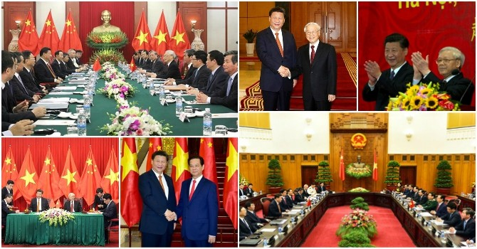Toàn cảnh chuyến công du của Chủ tịch Trung Quốc tại Việt Nam