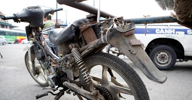 Hà Nội tịch thu nhiều xe tự chế nguy hiểm