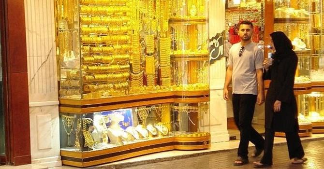 """Chợ vàng """"khủng"""" nhất Dubai hoành tráng thế nào?"""