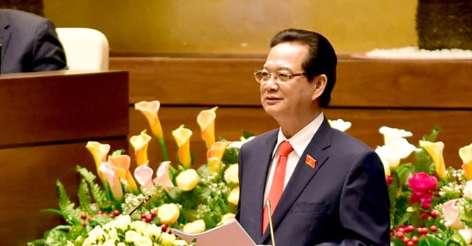 Thủ tướng trả lời chất vấn về chủ quyền biển Đông