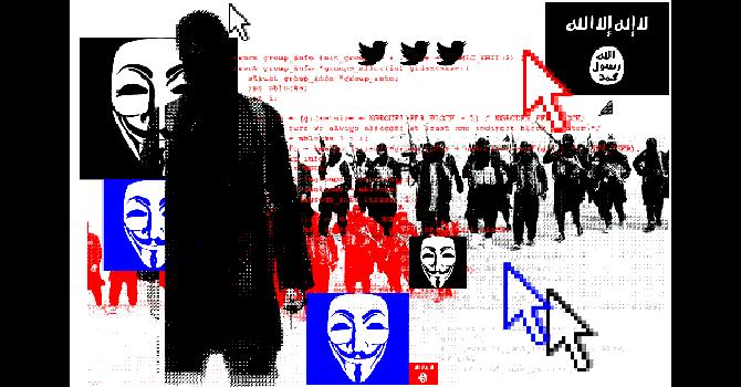 Anonymous và những cuộc chiến tranh mạng với IS