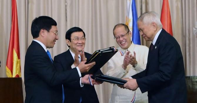 Việt Nam, Philippines trở thành đối tác chiến lược