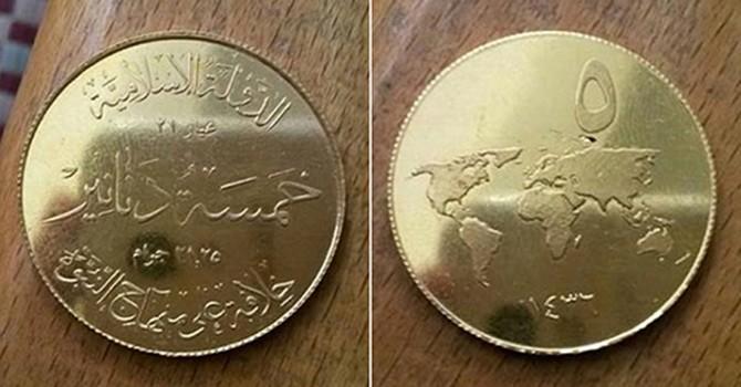 """Đằng sau việc đúc tiền """"dinar vàng"""" của IS"""