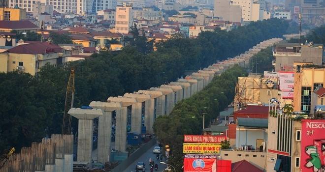 Cử tri Hà Nội chưa hài lòng về 2 tuyến đường sắt đô thị