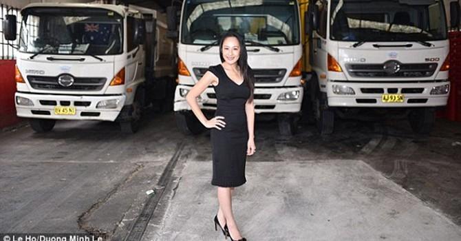 """Chân dung nữ doanh nhân gốc Việt làm chủ """"Đế chế rác"""" trị giá 10 triệu USD"""