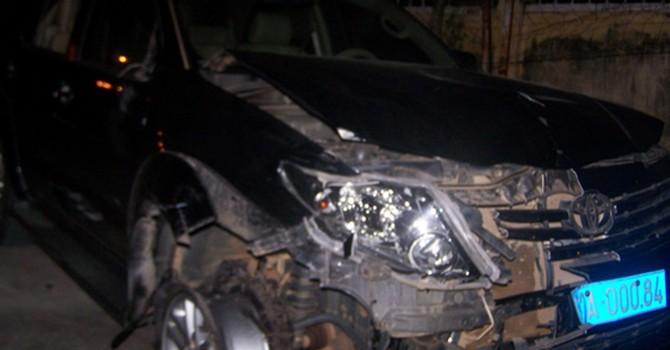 Viện trưởng Viện kiểm sát say xỉn gây tai nạn: Nồng độ cồn vượt nhiều lần mức cho phép
