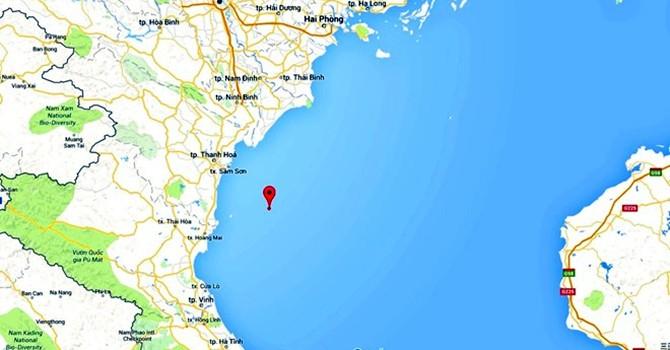 Chìm tàu trên biển Thanh Hóa, 7 ngư dân đang mất tích