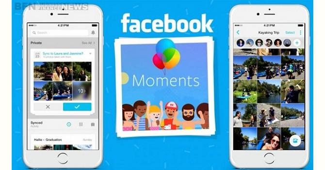 Facebook ép dùng Moments để đồng bộ ảnh trên di động