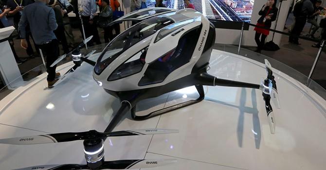 Công ty Trung Quốc sáng chế máy bay không người lái chở khách đầu tiên trên thế giới