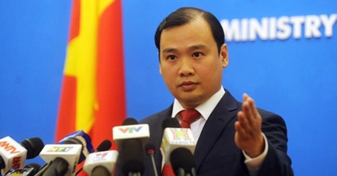 Việt Nam bác bỏ quan điểm của Trung Quốc về điều máy bay ra Trường Sa