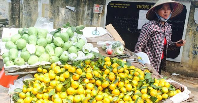 Trái cây Trung Quốc ùn ùn dội chợ