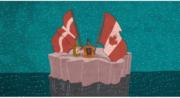 Hai quốc gia tranh chấp lãnh thổ bằng... rượu whisky